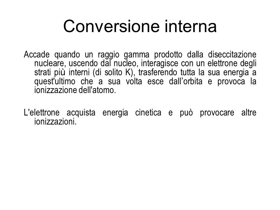 Conversione interna