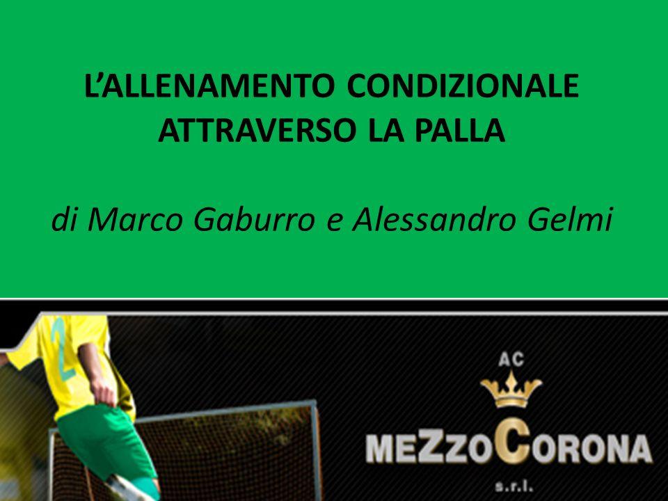 L'ALLENAMENTO CONDIZIONALE ATTRAVERSO LA PALLA di Marco Gaburro e Alessandro Gelmi