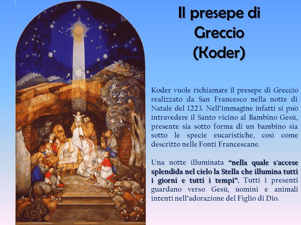 Il presepe di Greccio (Koder)