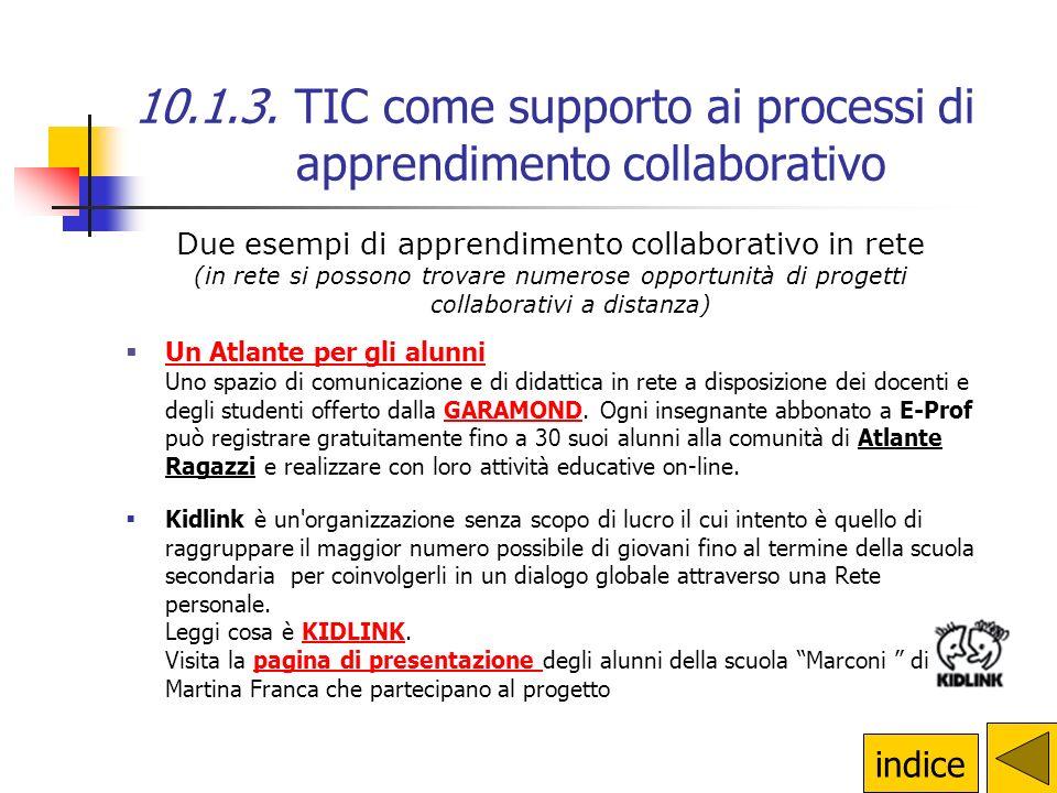 Due esempi di apprendimento collaborativo in rete