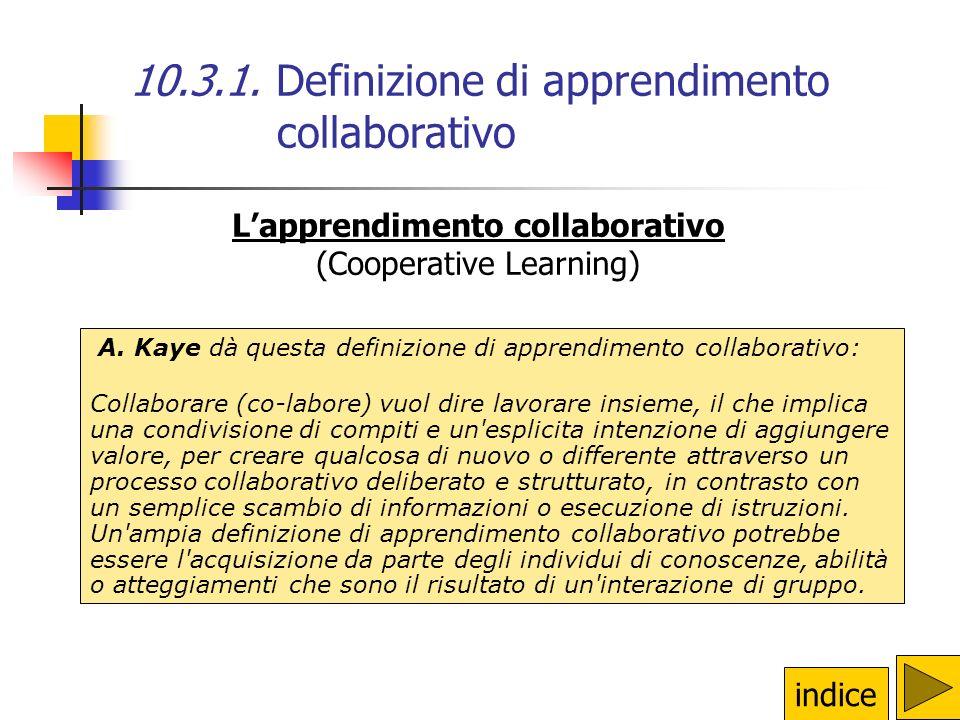 L'apprendimento collaborativo
