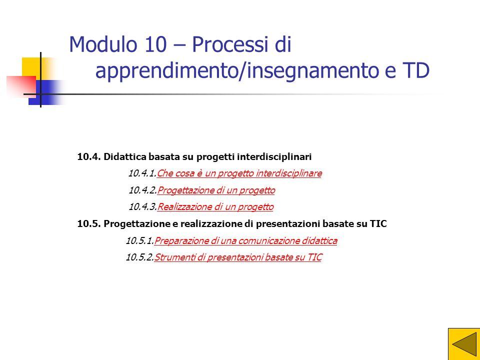 apprendimento/insegnamento e TD