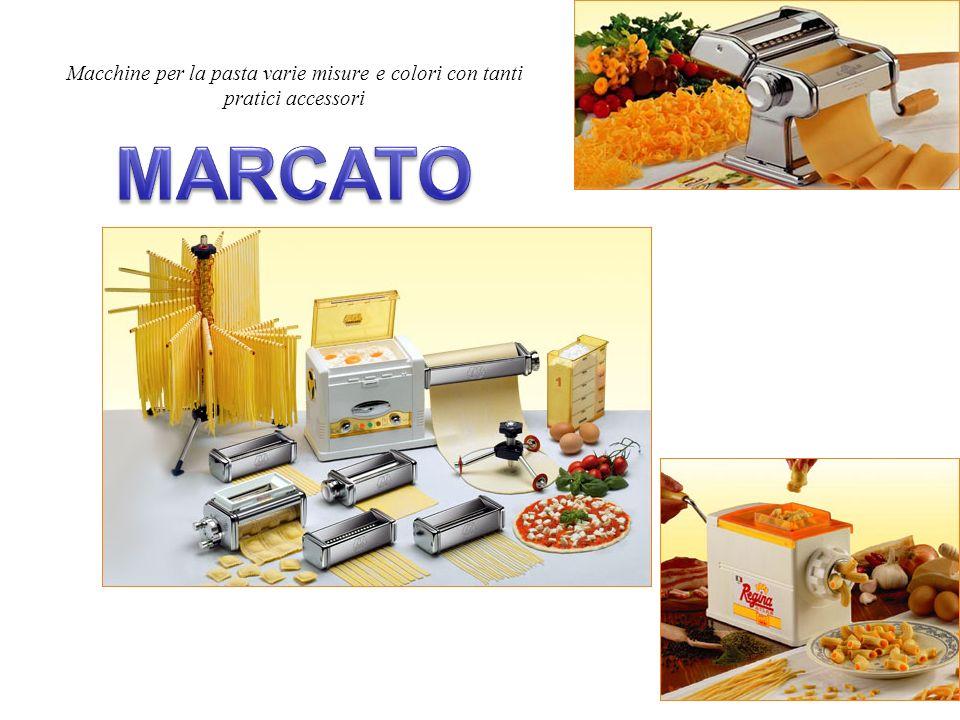 Macchine per la pasta varie misure e colori con tanti pratici accessori