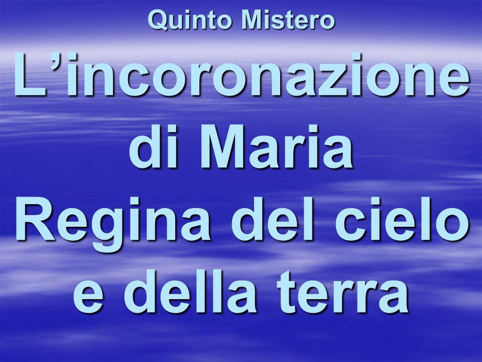 L'incoronazione di Maria Regina del cielo e della terra