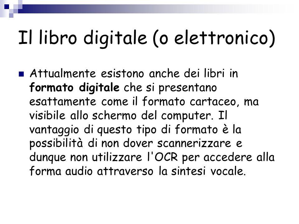 Il libro digitale (o elettronico)