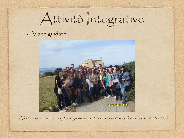 Attività Integrative Visite guidate