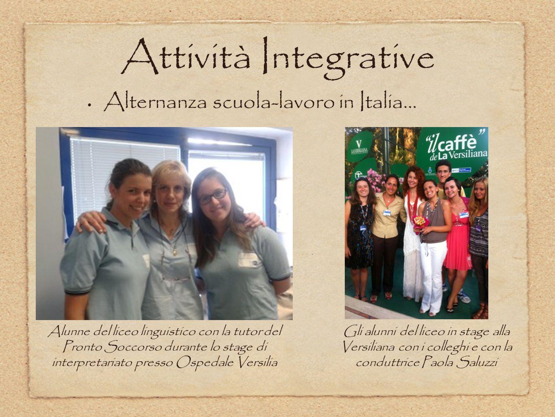Alternanza scuola-lavoro in Italia…