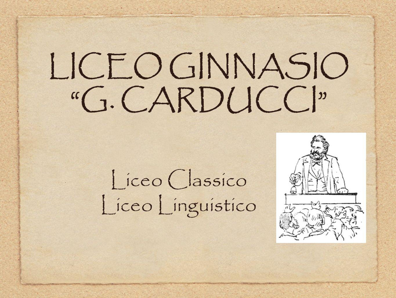 LICEO GINNASIO G. CARDUCCI
