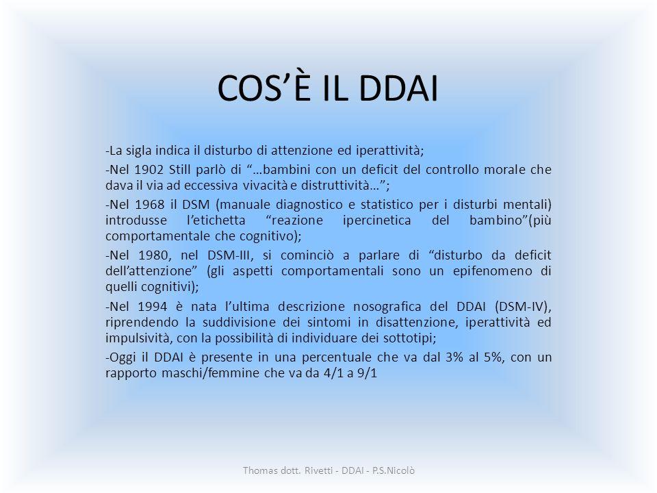 Thomas dott. Rivetti - DDAI - P.S.Nicolò