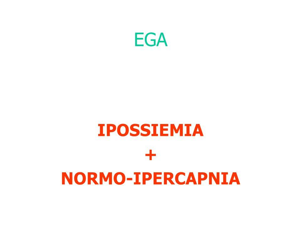 EGA IPOSSIEMIA + NORMO-IPERCAPNIA