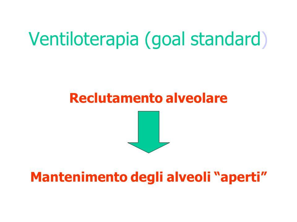 Ventiloterapia (goal standard)