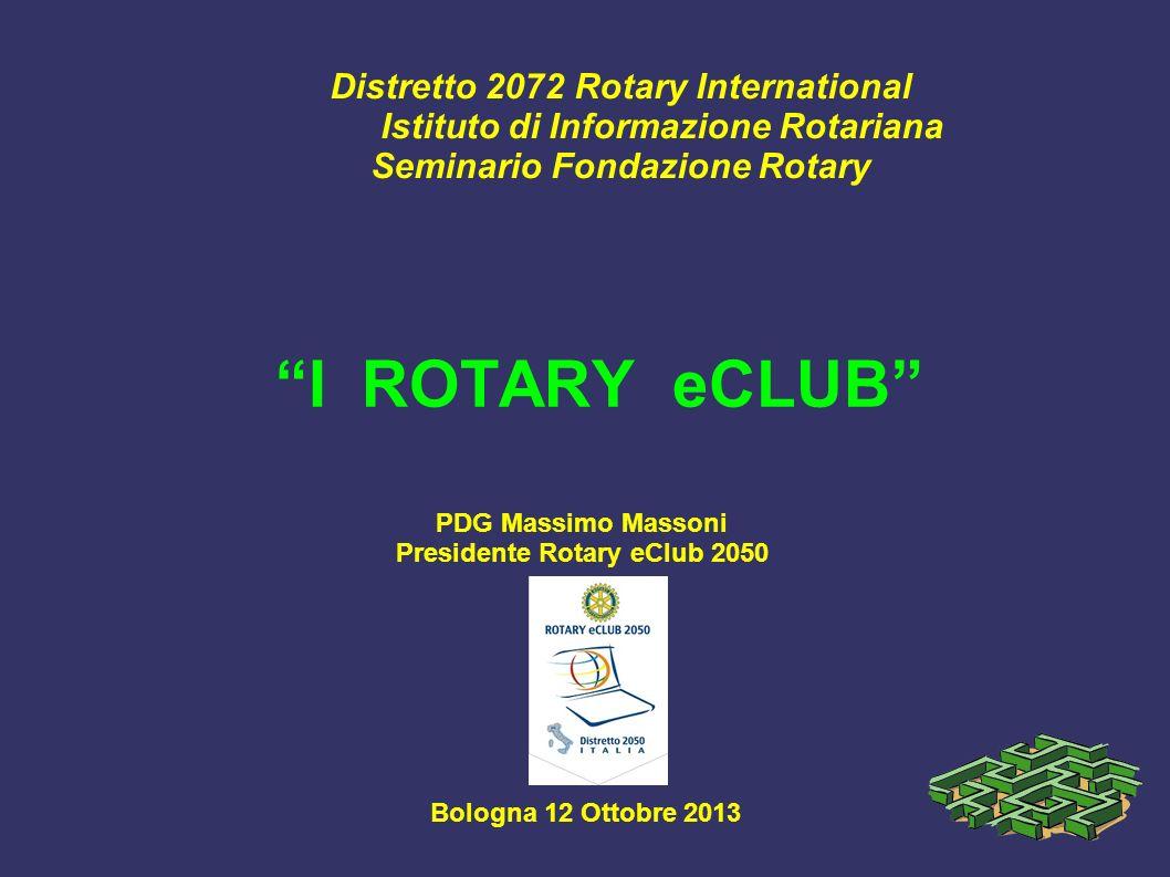 Presidente Rotary eClub 2050