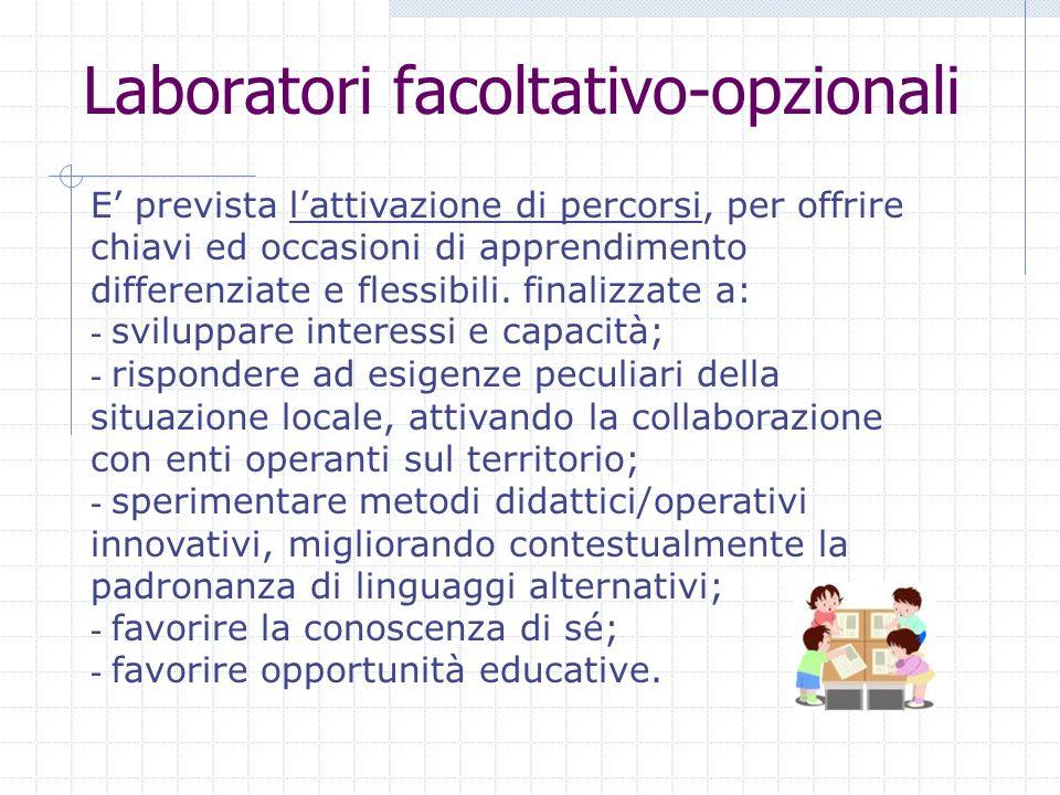 Laboratori facoltativo-opzionali