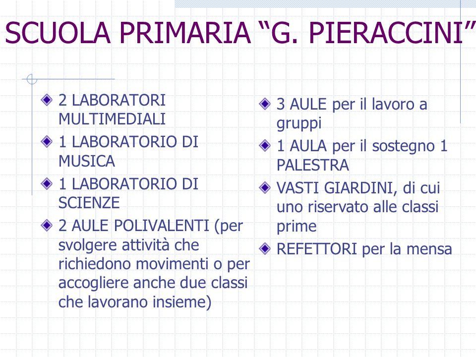 SCUOLA PRIMARIA G. PIERACCINI