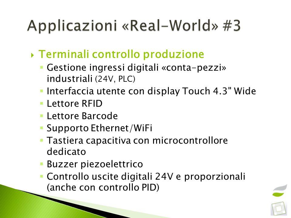 Applicazioni «Real-World» #3