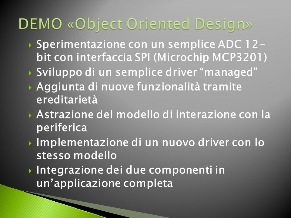 DEMO «Object Oriented Design»