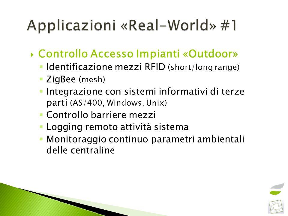 Applicazioni «Real-World» #1