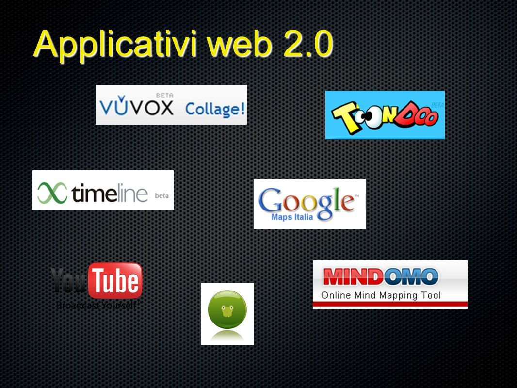 Applicativi web 2.0