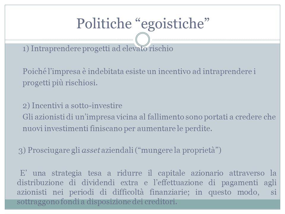 Politiche egoistiche