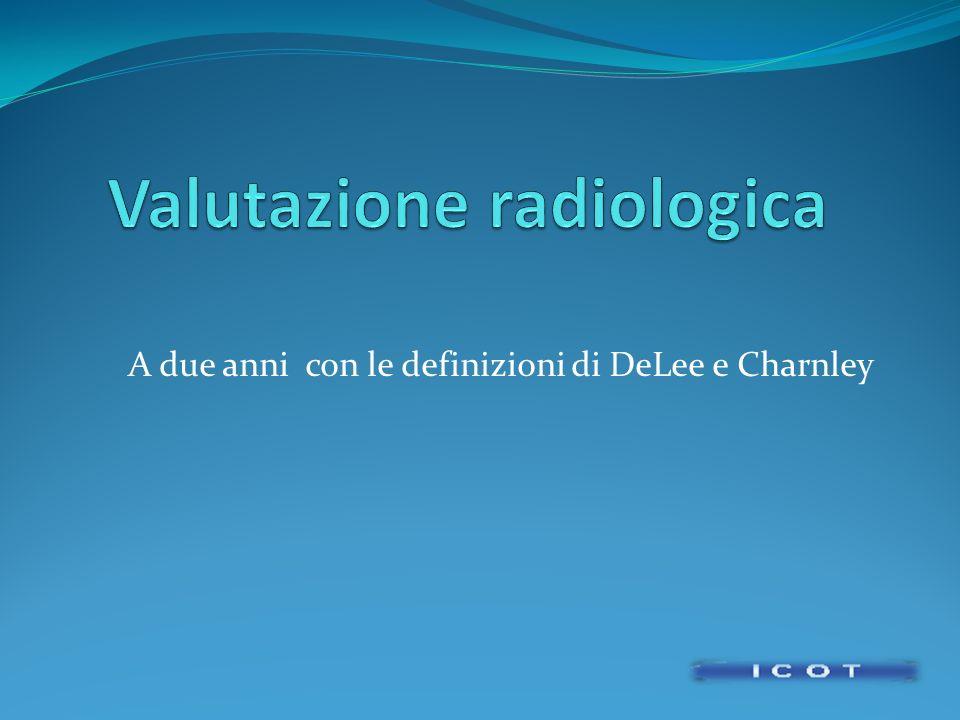 Valutazione radiologica