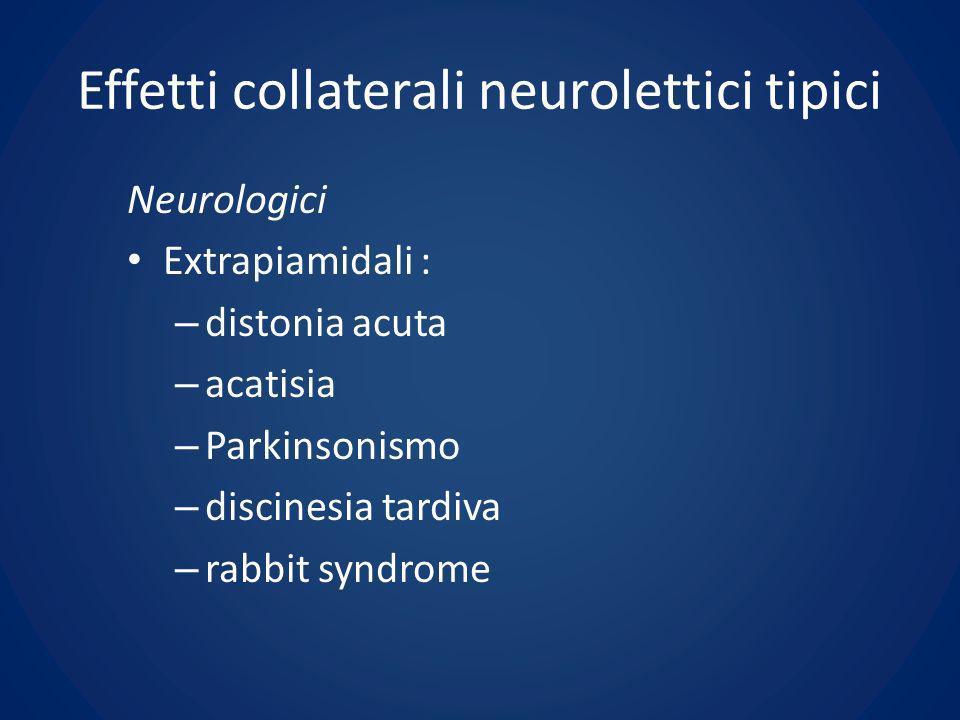 Effetti collaterali neurolettici tipici