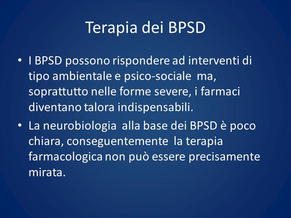 Terapia dei BPSD