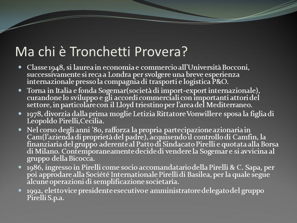 Ma chi è Tronchetti Provera