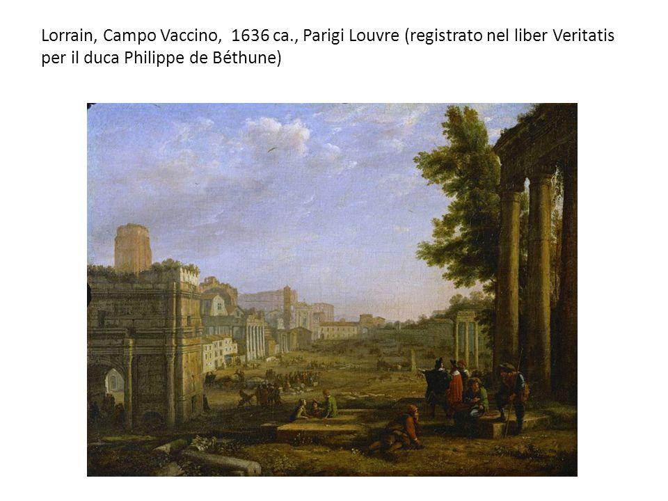 Lorrain, Campo Vaccino, 1636 ca