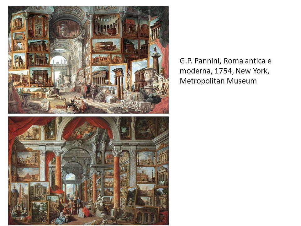 G.P. Pannini, Roma antica e moderna, 1754, New York, Metropolitan Museum