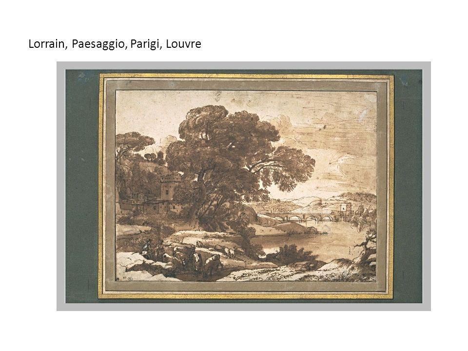 Lorrain, Paesaggio, Parigi, Louvre