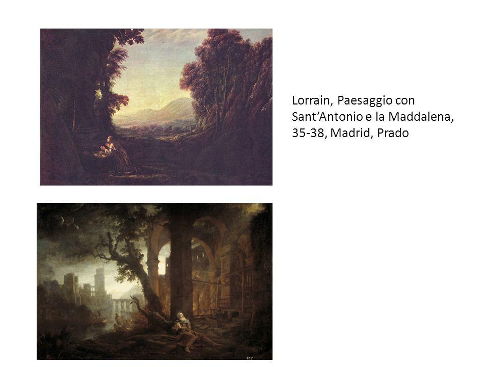 Lorrain, Paesaggio con Sant'Antonio e la Maddalena, 35-38, Madrid, Prado