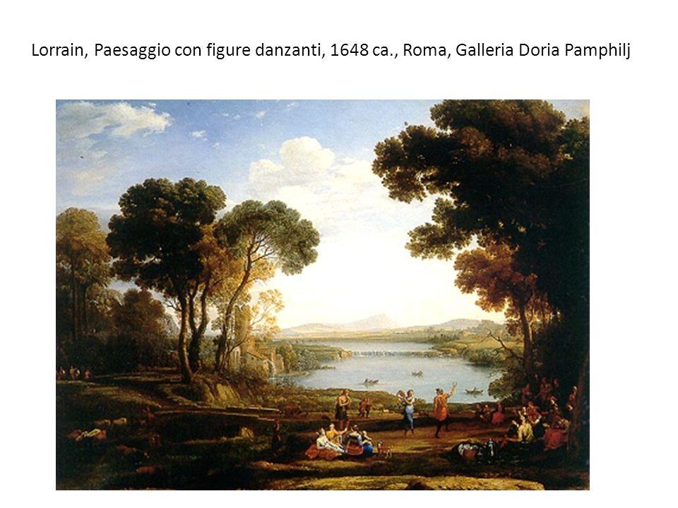 Lorrain, Paesaggio con figure danzanti, 1648 ca
