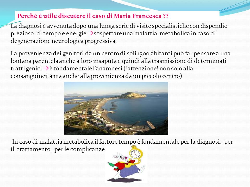 Perché è utile discutere il caso di Maria Francesca