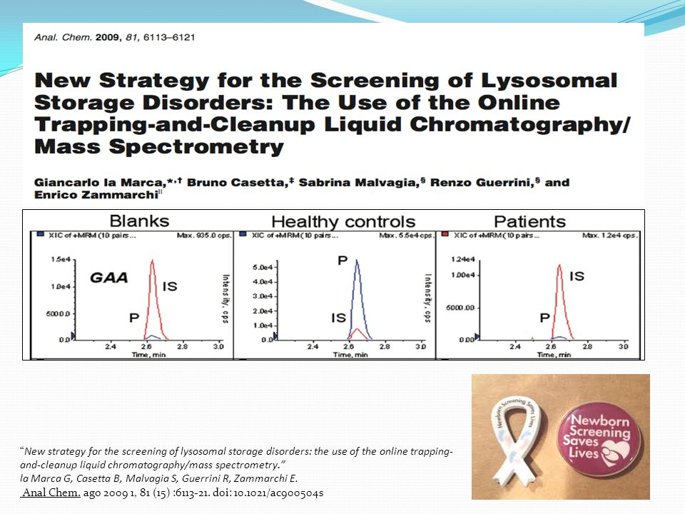 New strategy for the screening of lysosomal storage disorders: the use of the online trapping-and-cleanup liquid chromatography/mass spectrometry.