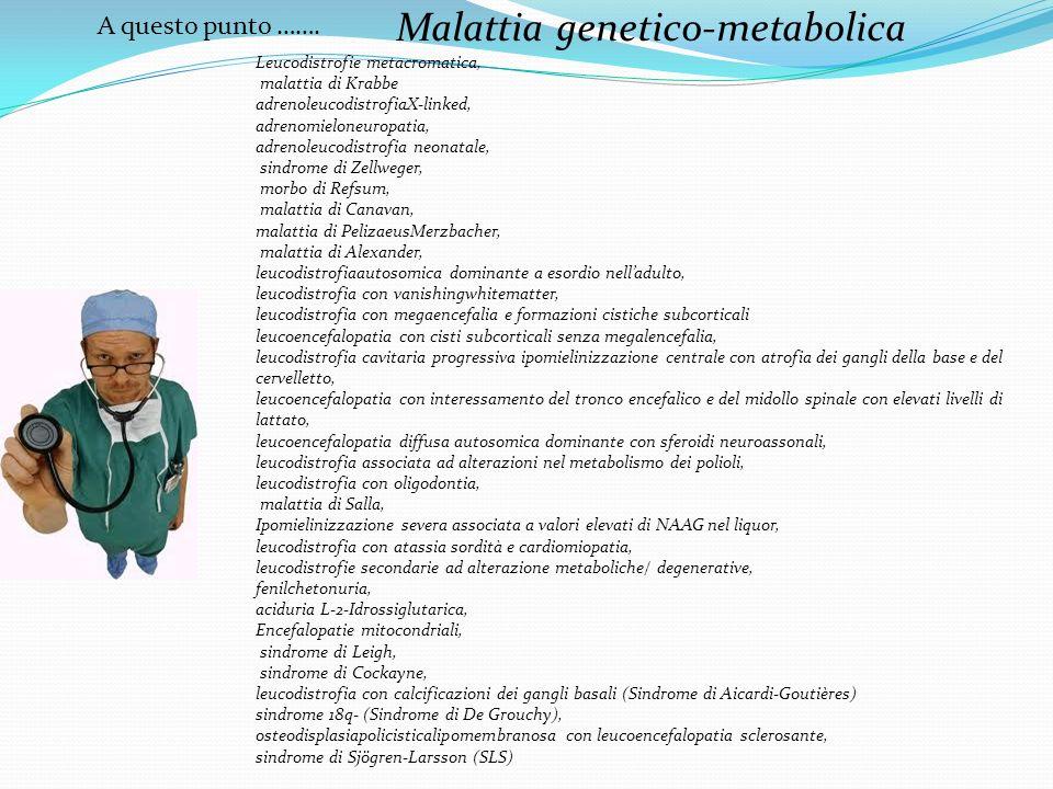 Malattia genetico-metabolica