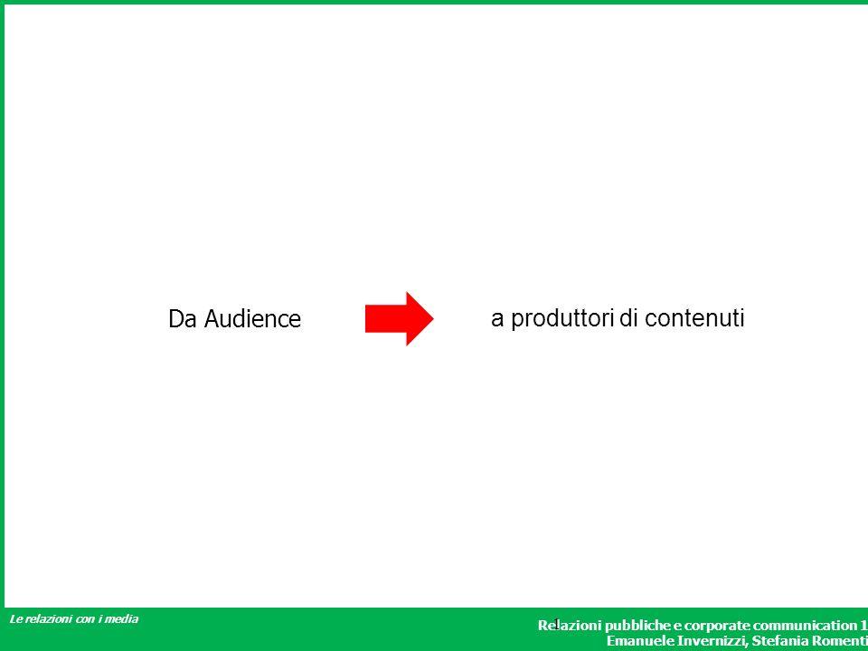 a produttori di contenuti
