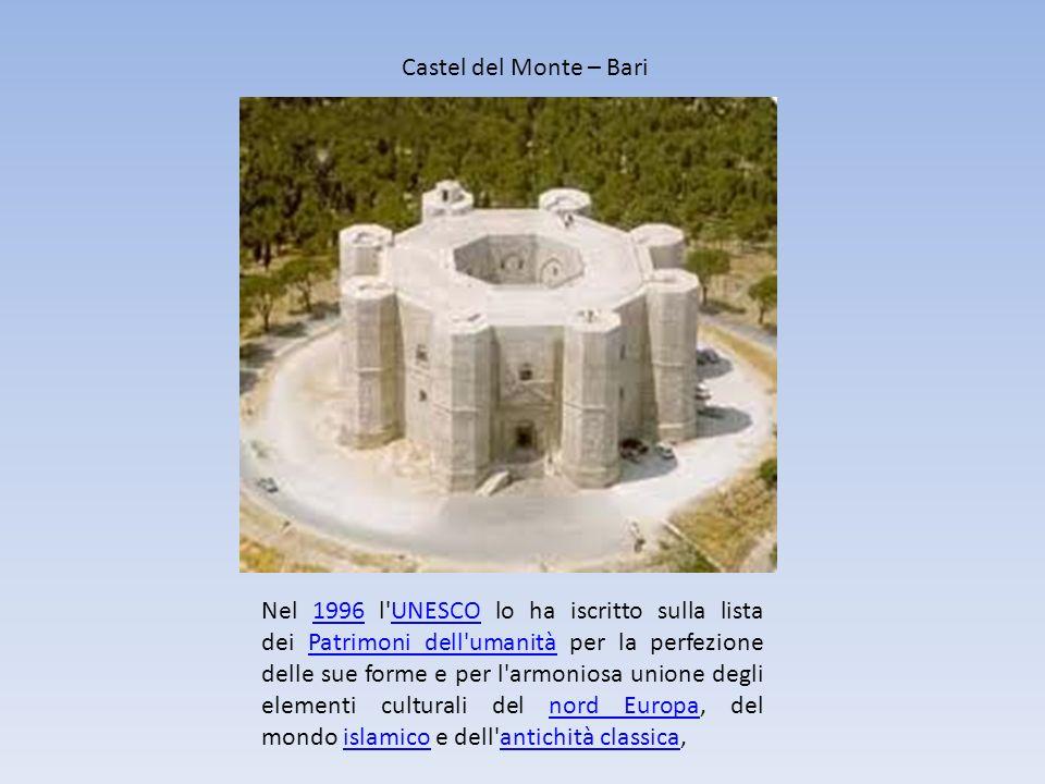 Castel del Monte – Bari