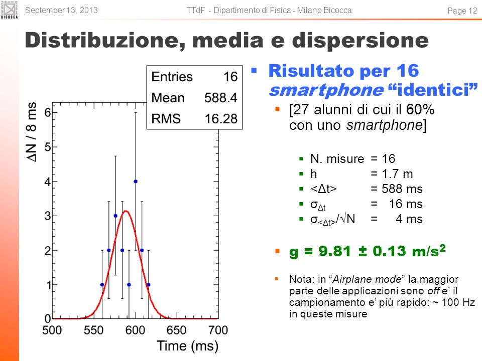 Distribuzione, media e dispersione