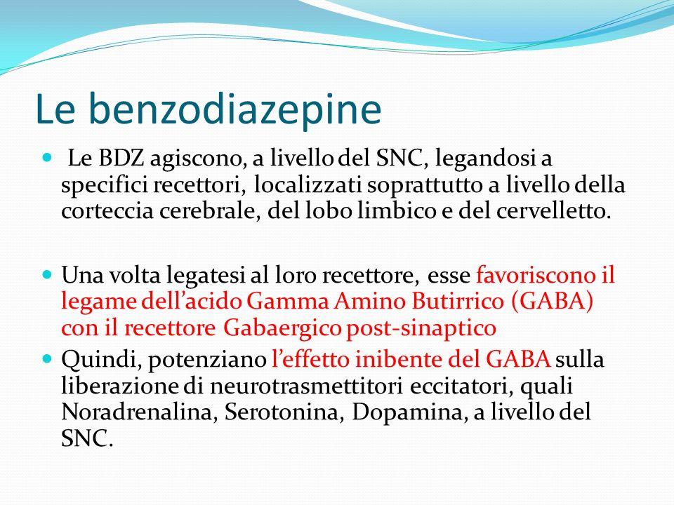 Le benzodiazepine