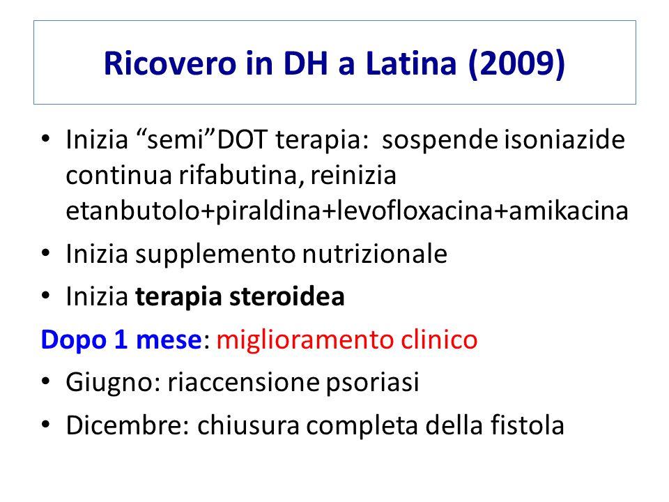Ricovero in DH a Latina (2009)