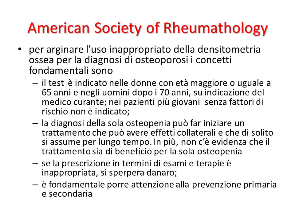 American Society of Rheumathology