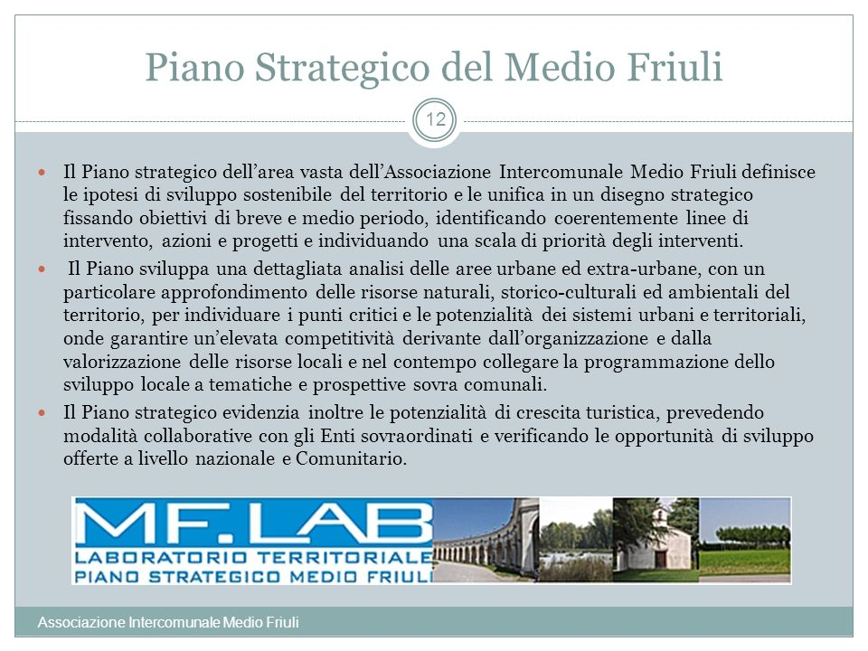 Piano Strategico del Medio Friuli