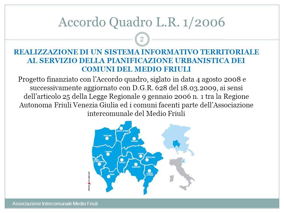 Accordo Quadro L.R. 1/2006