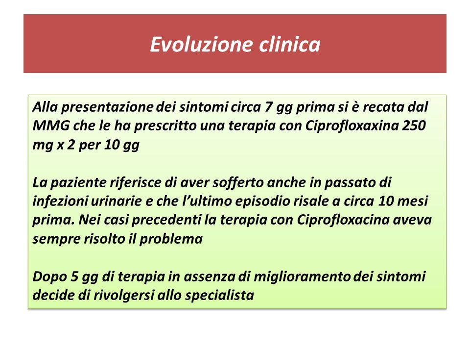 Evoluzione clinica