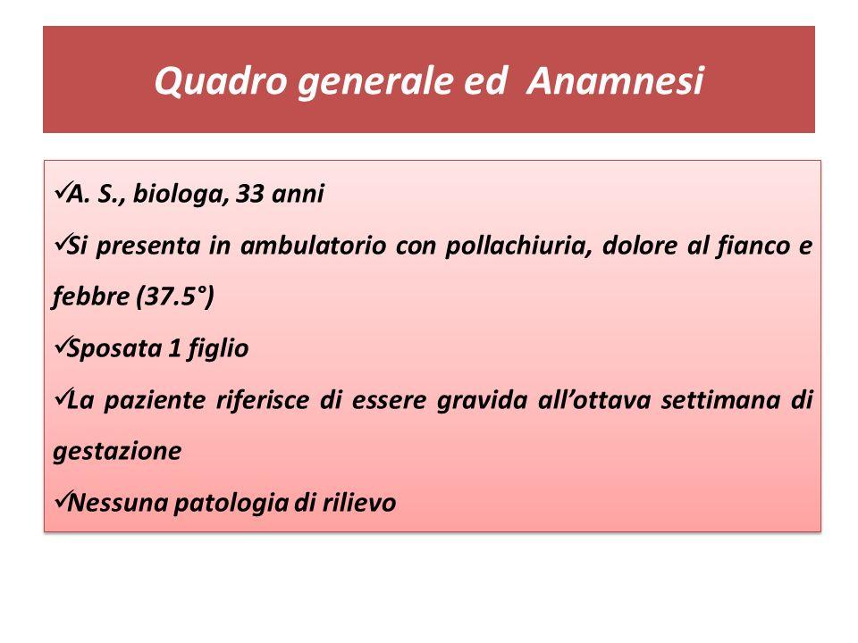 Quadro generale ed Anamnesi