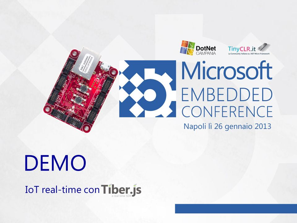 DEMO IoT real-time con