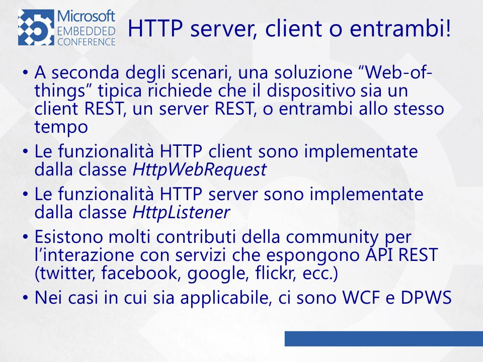 HTTP server, client o entrambi!