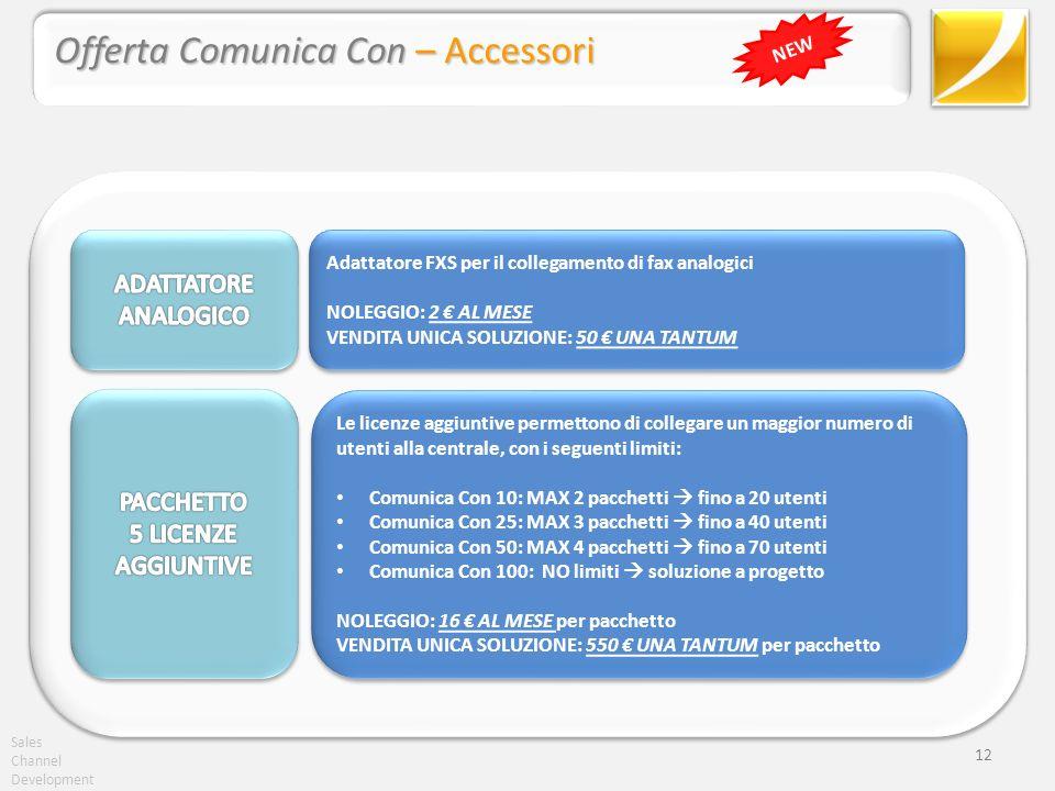 Offerta Comunica Con – Accessori