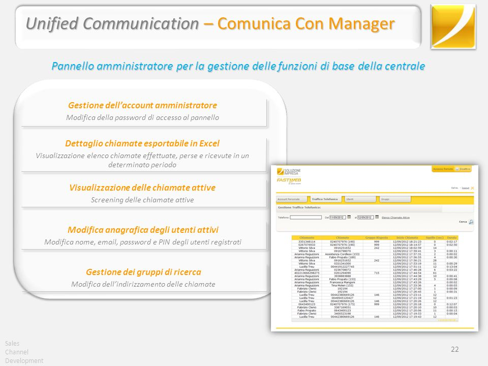 Unified Communication – Comunica Con Manager