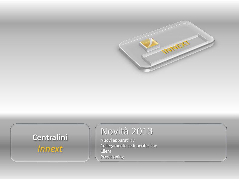 INNEXT Novità 2013 Innext Centralini Nuovi apparati HD